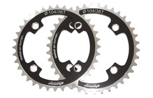 Shaman Racing Chainring Medium 4x104 mm black